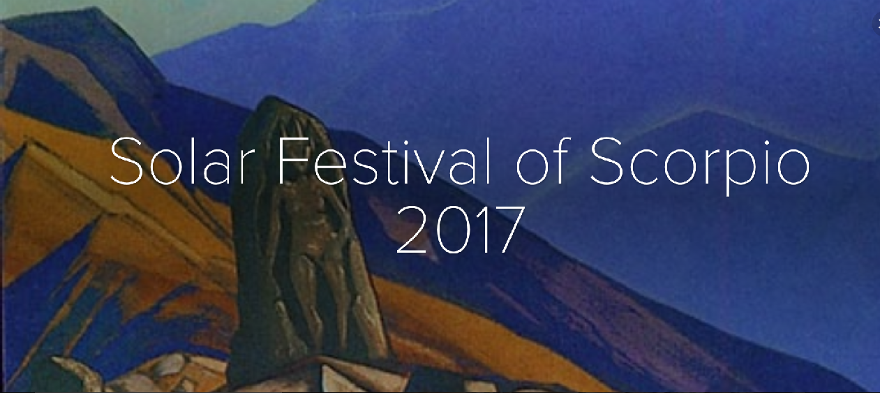 Solar Festival of Scorpio